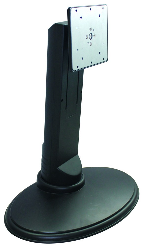 Single Lcd Monitor Desk Stand Black Deluxe Gas Spring For 1 Screen Upto 23 Extension Clamp Model V001d